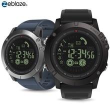 Bluetooth 50m Waterpproof Smartwatch Zeblaze VIBE 3 Sport Intelligente Orologio 33 Mesi Lungo Standby Uomo Orologio Per IOS E android 2019