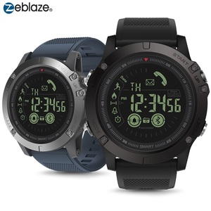 Image 1 - Bluetooth 50m Waterpproof Smartwatch Zeblaze VIBE 3 Sports Smart Watch 33 Months Long Standby Man Watch For IOS And Android 2019
