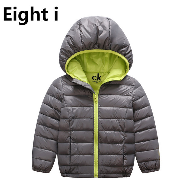 Baby Girls Boys White Duck Down Jacket Winter Girl Ultra Light  Thin Warm Down Coat Girl's Down & Parkas 5-13 Years Children