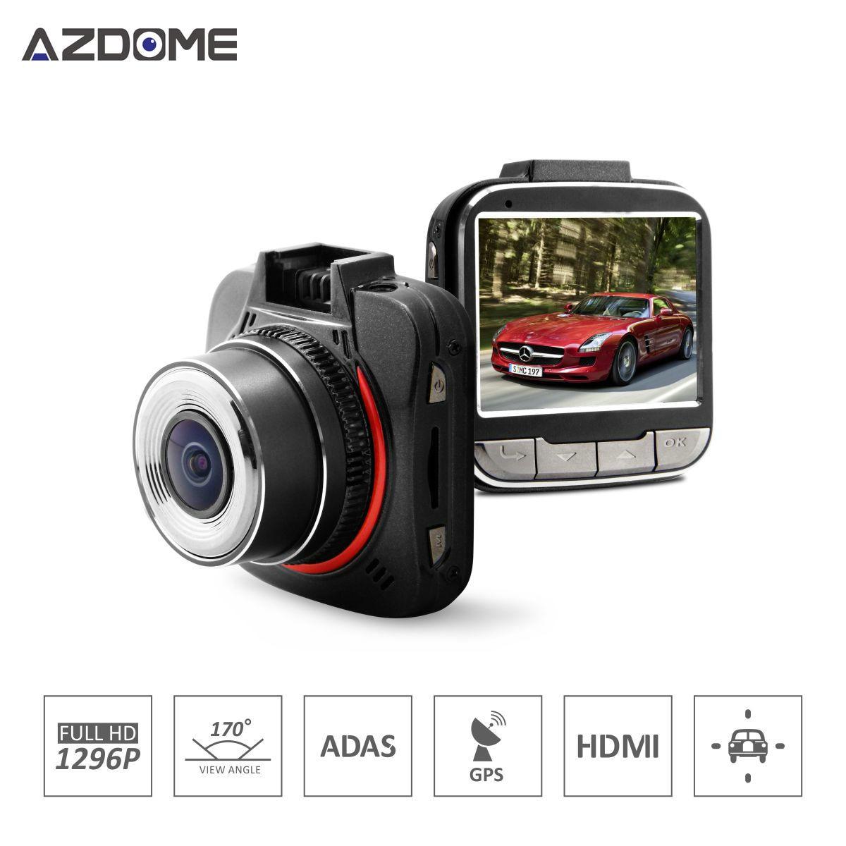 GS52D Mini Car DVR Ambarella A7LA50 Full HD 1080P 30fps 2.0 inch LCD With G-Sensor HDR GPS Car Dash Camera Recorder цены онлайн