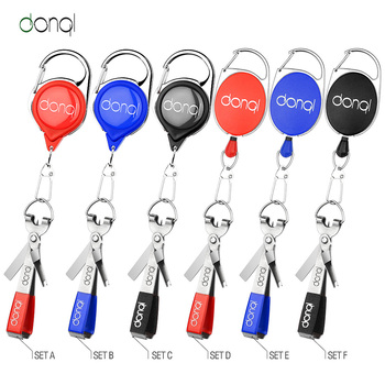 DONQL Fishing Quick Knot Tool Fast Tie Nail Knotter Line Cutter Clipper Nipper Hook Sharpener Fly Tying Tool Fishing Tackle Gear 1