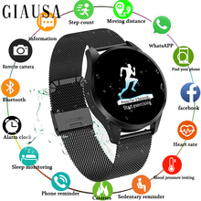 Smart Watch Waterproof Message Call Reminder Smartwatch Men Heart Rate Monitor Fashion Fitness Tracker for IPhone Android PK Q8 цена