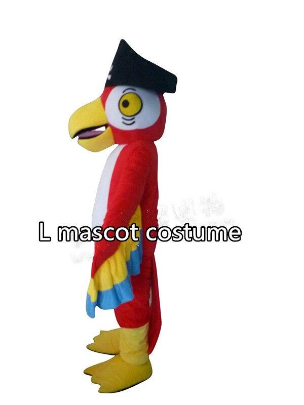 海賊オウムマスコット衣装オウム鳥漫画衣装大人サイズ送料無料  グループ上の ノベルティ & 特殊用途 からの マスコット の中 2