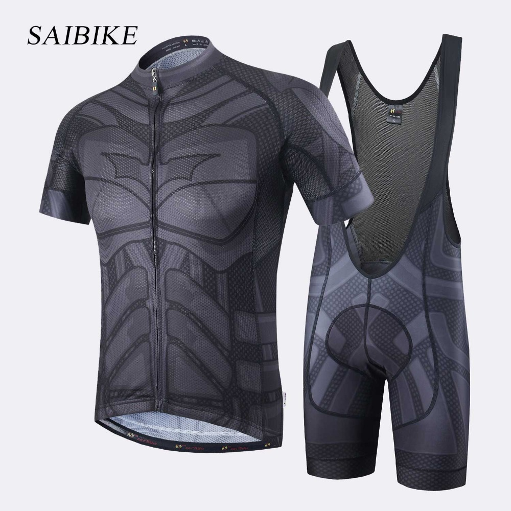Super Hero Iron man Superman Spiderman Batman ciclismo jersey degli uomini di breve/lungo abbigliamento ciclismo roupa ciclismo abbigliamento ciclismo set