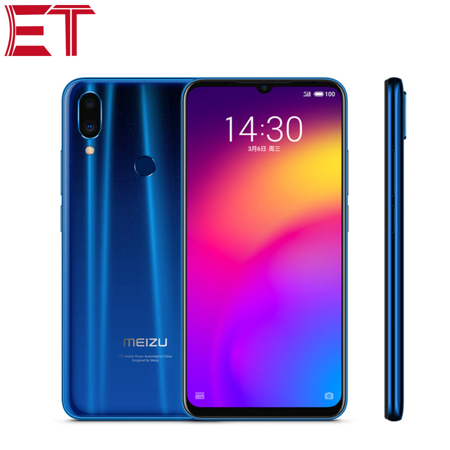 "Brand New Smart Phone MEIZU Note 9 6.2"" Snapdragon 675 Octa Core 6GB RAM 64GB ROM Fingerprint Recognition 48MP Quick Charge 3.0"