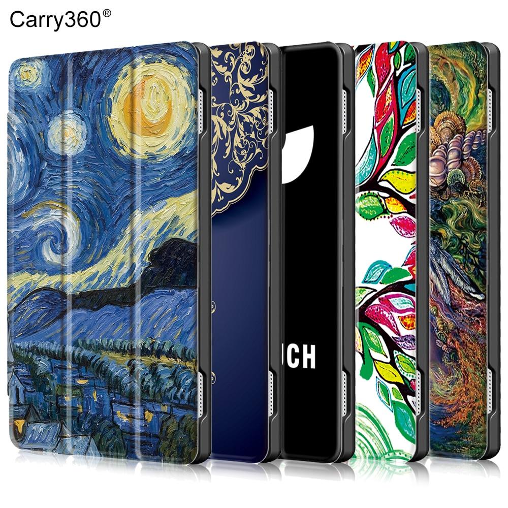 Case for Lenovo Tab 4 10 Plus TB-X704L TB-X704F TB-X704FN, Carry360 Fashion PU Leather Wake Sleep Cover for Lenovo Tab4 10 Plus oasis fn 10 l