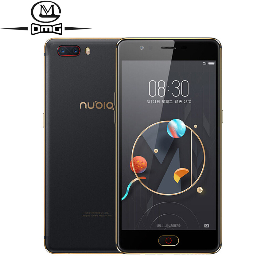 ZTE Nubia M2 4G Smartphone 4GB RAM 128GB ROM Snapdragon 625 Octa Core Cell Phones 5