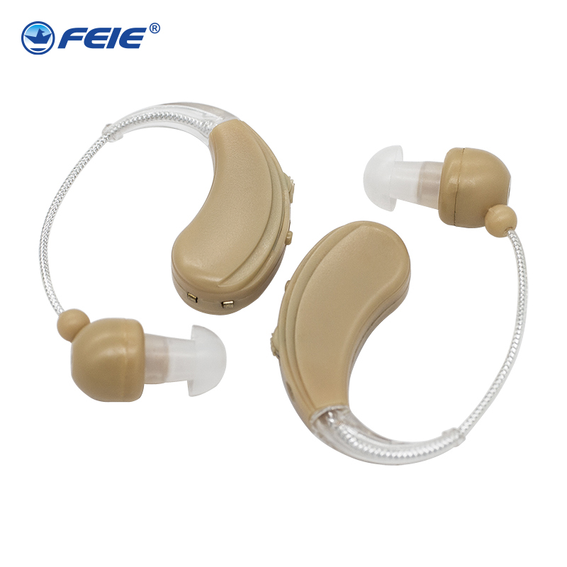 Headphones for Sound Amplification Rechargeable Ear S 109S Bte Apparecchio Acustico Hearing Aids Double Deaf Devices
