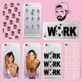 1 800 Горячая Линия Bling Call Me Rihanna Дрейк Работы Soft ТПУ Случае Покрытия Принципиально для iPhone 7 Plus 7 6 Плюс 6 6 S 5 5S 4 4S SE 5C Samsung