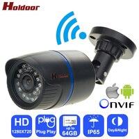 Holdoor Video Surveillance IPC WiFi IP Camera HD 720P Network IR Cut Night Vision IP65 Waterproof