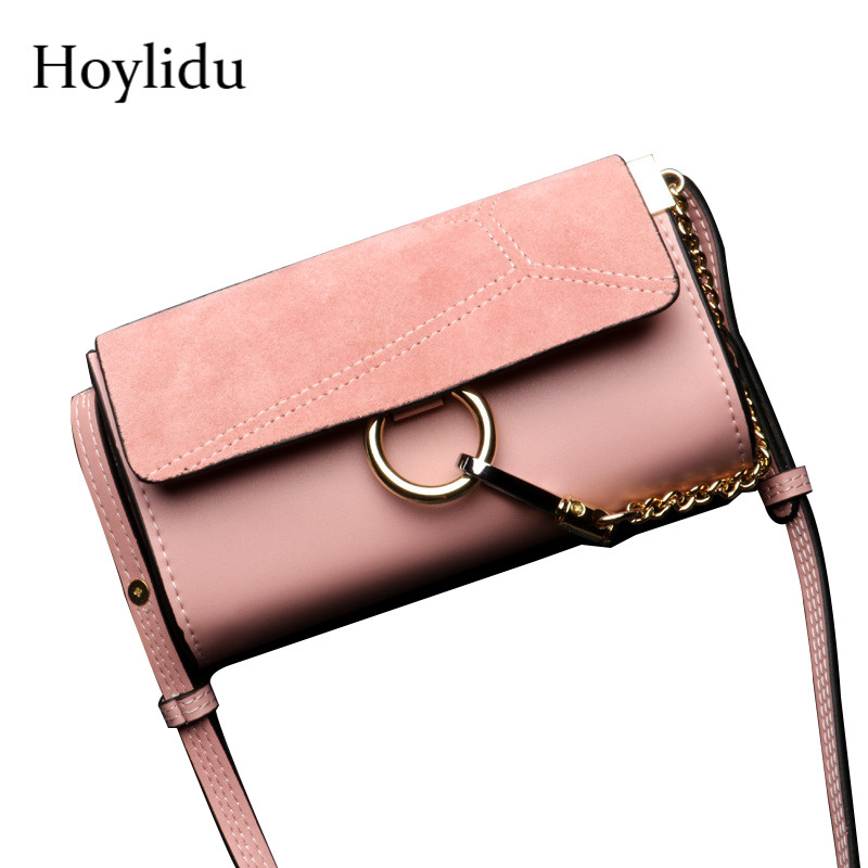 New Scrub Cow Leather Women Small Shoulder Bags Ring Mini Flap Adjustable Strap Fashion Vintage Messenger Crossbody Bag For Lady women messenger bags scrub female crossbody bag vintage winter colorful strap small shoulder bag flap famous brand 7v9263