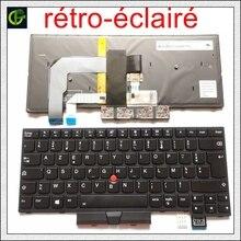 الأصلي والجديد لوحة المفاتيح الفرنسية ازرتي الخلفية ل IBM ثينك باد T480 A485 MT 20L5 20L6 01HX310 01HX350 01HX390 FR