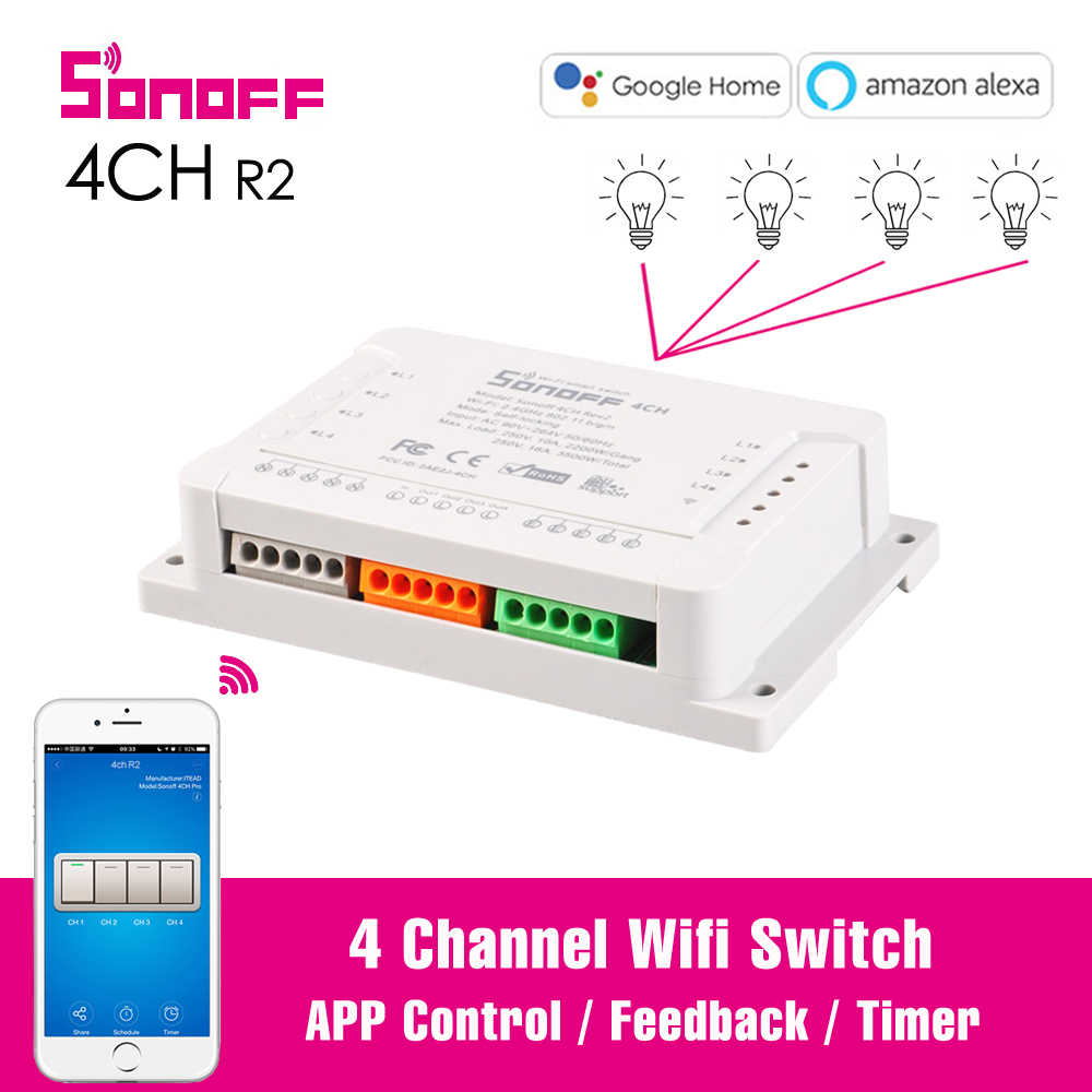 Detail Feedback Questions about Sonoff Basic Wireless WiFi Switch