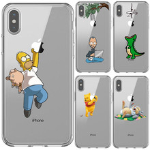 Get more info on the Cute Cartoon Simpson little mermaid Soft Silicone Back Cover Case For iPhone 11 Pro MAX 2019 X 5S SE 6 6SPlus 7 8 Plus XS MAX XR