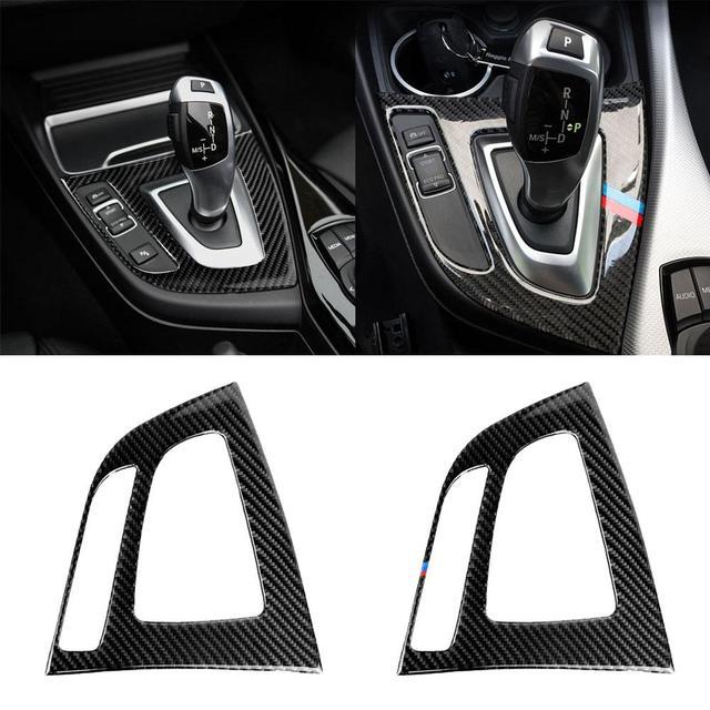 Gear Shift Control Panel Cover Interior Trim Car Auto Sticker For