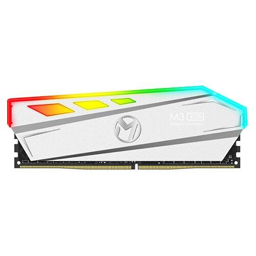 Les plus récents effets MAXSUN M3 DDR4 RGB/mémoire de radiateur en alliage d'aluminium RAM modulaire 8 GB/2400 MHz avec Granules DRAM d'origine