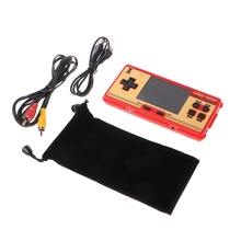 Data Frog Portable Handheld Classic Games Players Console Support AV Out Put-Y1QA