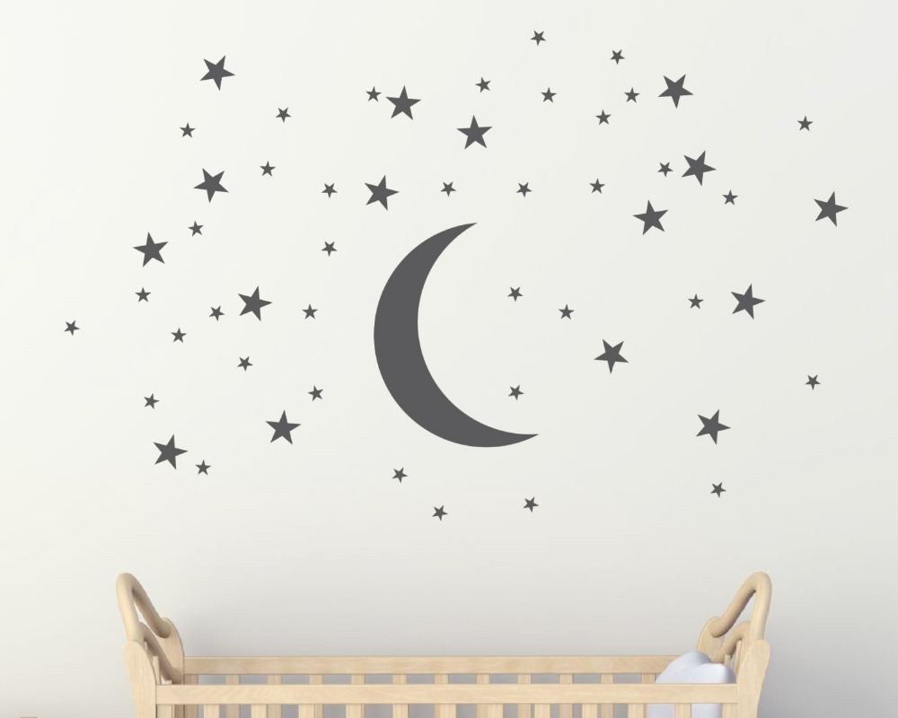 Photo Collection Stars And Moon Baby Wallpaper