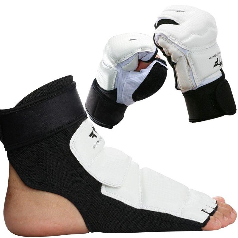8 pcs venda quente protetores de Taekwondo terno adulto Criança luvas TKD calçado peito karate shin guarda braço pontapé MMA Capacete de virilha guarda 6