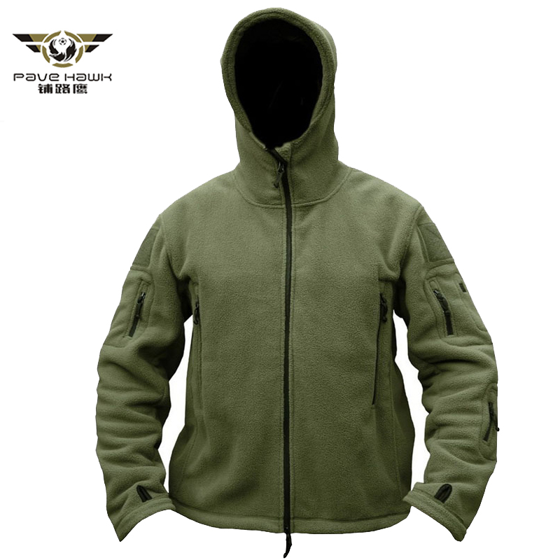 Winter Military Tactical Jacket Fleece Coats Men Thermal Warm Polar Army Clothes Multiple Pocket Outerwear Casual Hoodie Jackets