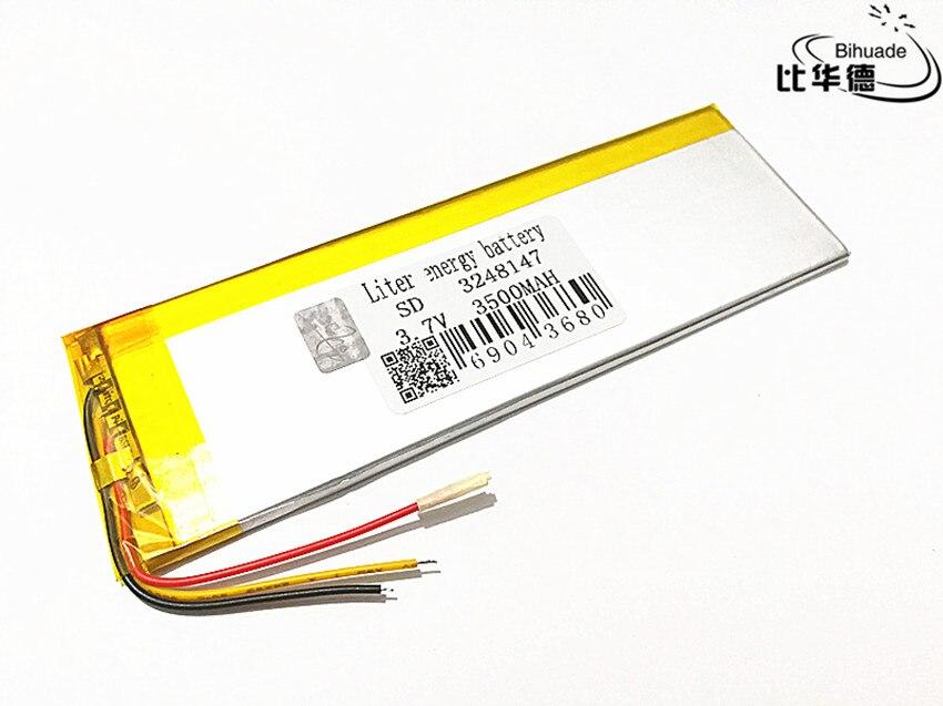 3 линии 1 шт./лот литровая энергетическая батарея 3248147 батарея для планшета внутренняя 3500 мАч обменные батареи diy части