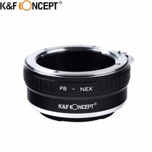 K & F Концепция Высокое качество камеры Крепление объектива переходное кольцо для Praktica Крепление объектива к для Sony NEX Объектив камеры тела