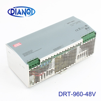 Din rail power supply 960W 48V power suply meanwell ac dc converter DRT 960 48 960W 20A 48V Industrial Original MEAN WELL