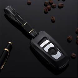Ключа автомобиля чехол Shell для BMW F10 F20 F30 Новый 1 2 3 4 5 6 7 серии X3 x4 320I 116I 118I 328I 530I Ключ стикер