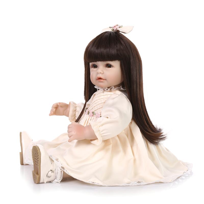 50cm fashion girl dolls Silicone Vinyl Reborn BabyToys  Baby Toddler dolls Brinquedos Best Christmas Gifts For Kids50cm fashion girl dolls Silicone Vinyl Reborn BabyToys  Baby Toddler dolls Brinquedos Best Christmas Gifts For Kids