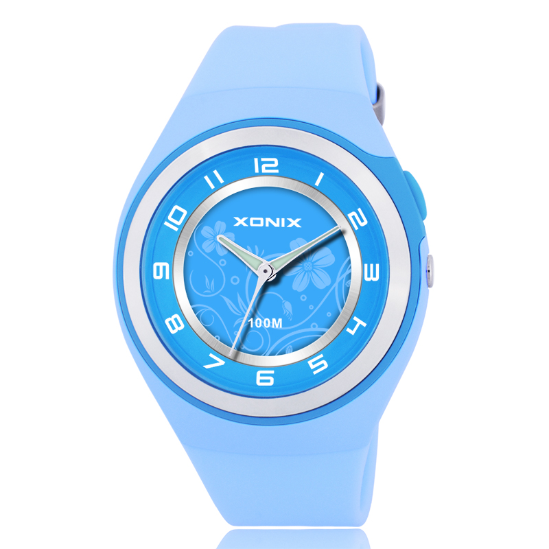Sport 100m Water Resistant Analog Quartz Watch Women , Fashion Women Dress Watches , Relogio Feminino Montre Femme De Marque