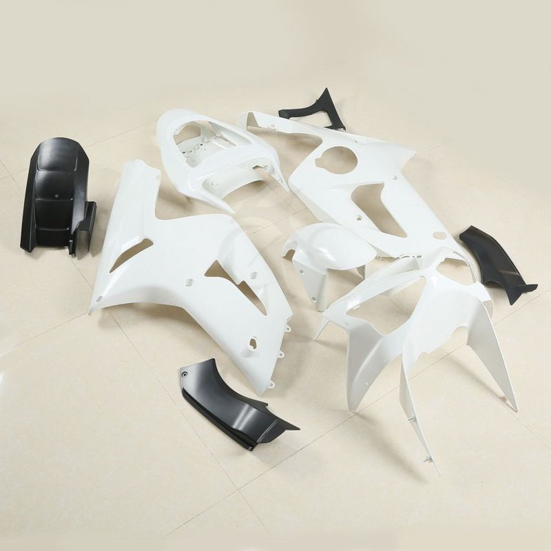 Unpainted Injection Cowl Bodywork Fairing Kit For KAWASAKI ZX6R <font><b>636</b></font> <font><b>2003</b></font> 2004 Motorcycle image