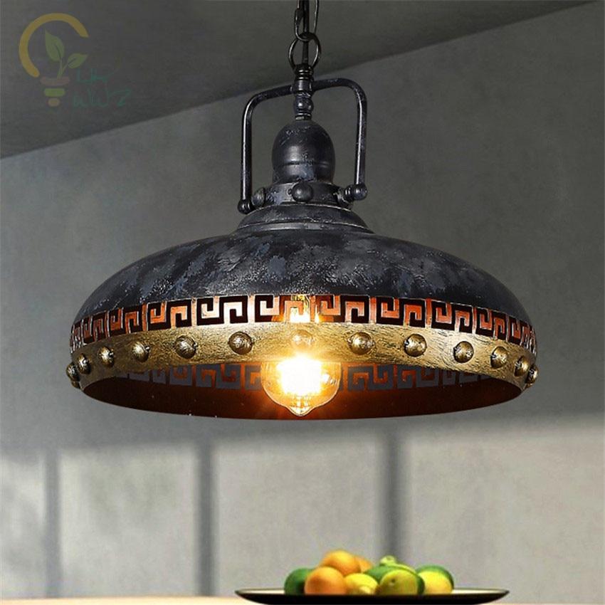 Ceramic Pendant Light Rustic Light Fixture Retro Lighting: American Rustic Edison Loft Style Industrial Pendant Lamps