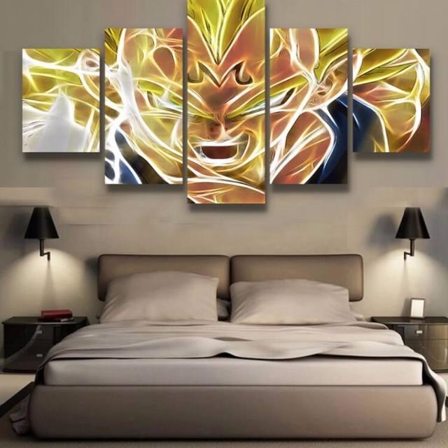 Tienda Online Interior original abstracta del arte enmarcado anime ...