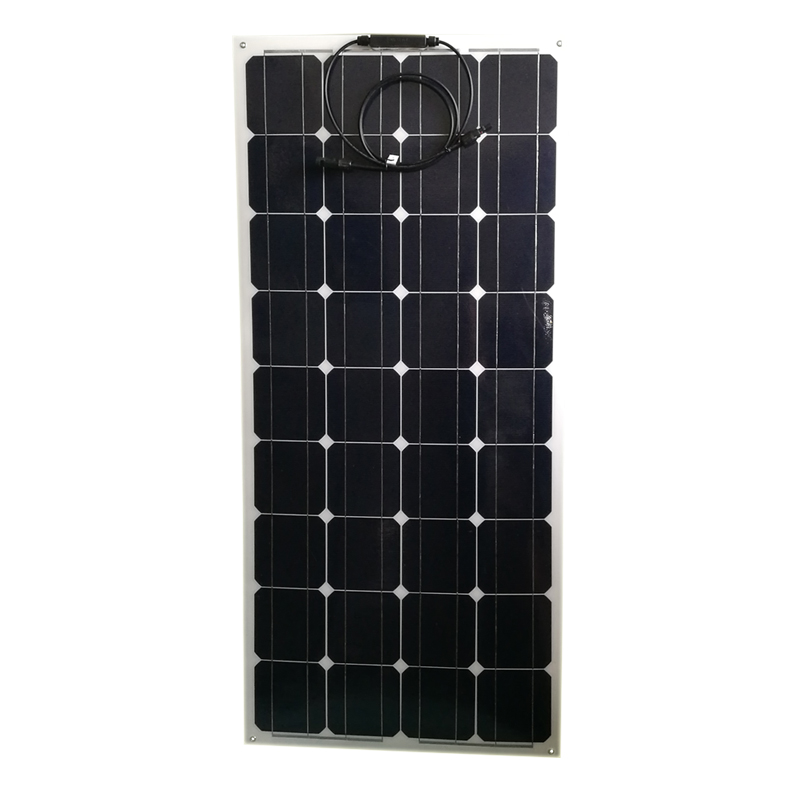 12 v 100 w Monocristalinos Painel Solar Flexível portátil Bateria Carregador Solar Caravan Camping Car Boat Marine Yacht Boat LED