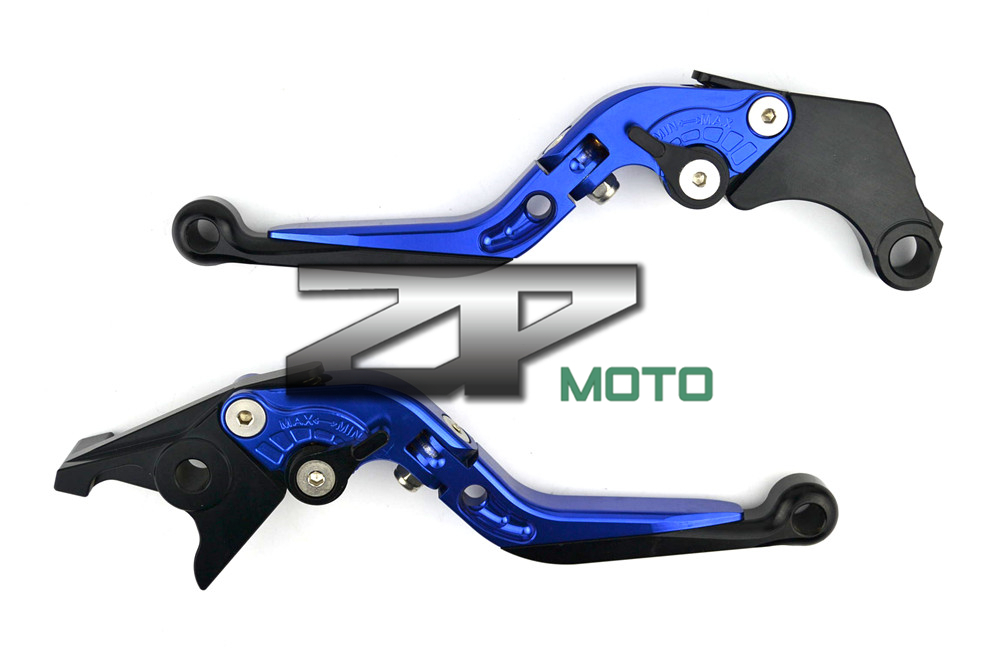 Adjustable Folding Extendable Brake Levers For Aprilia Caponord/ETV1000 RST1000 Futura RSV4/RSV4 Factory Tuono V4R 8 Colors billet short folding brake clutch levers for aprilia dorsoduro 750 1200 fighter tuono 1000 rsv 1000 r mille sl1000 falco etv1200