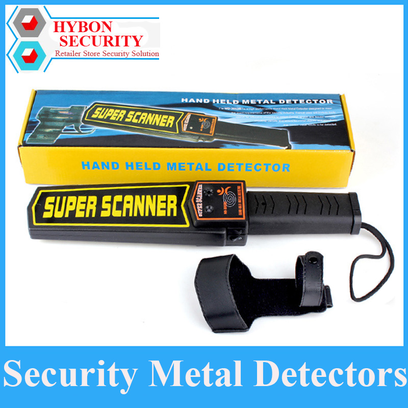Handheld Security Metal Detector Security Wand High Sensitivity Metal Scanner Alarm Vibration Super Scanner Metal Finder(China)