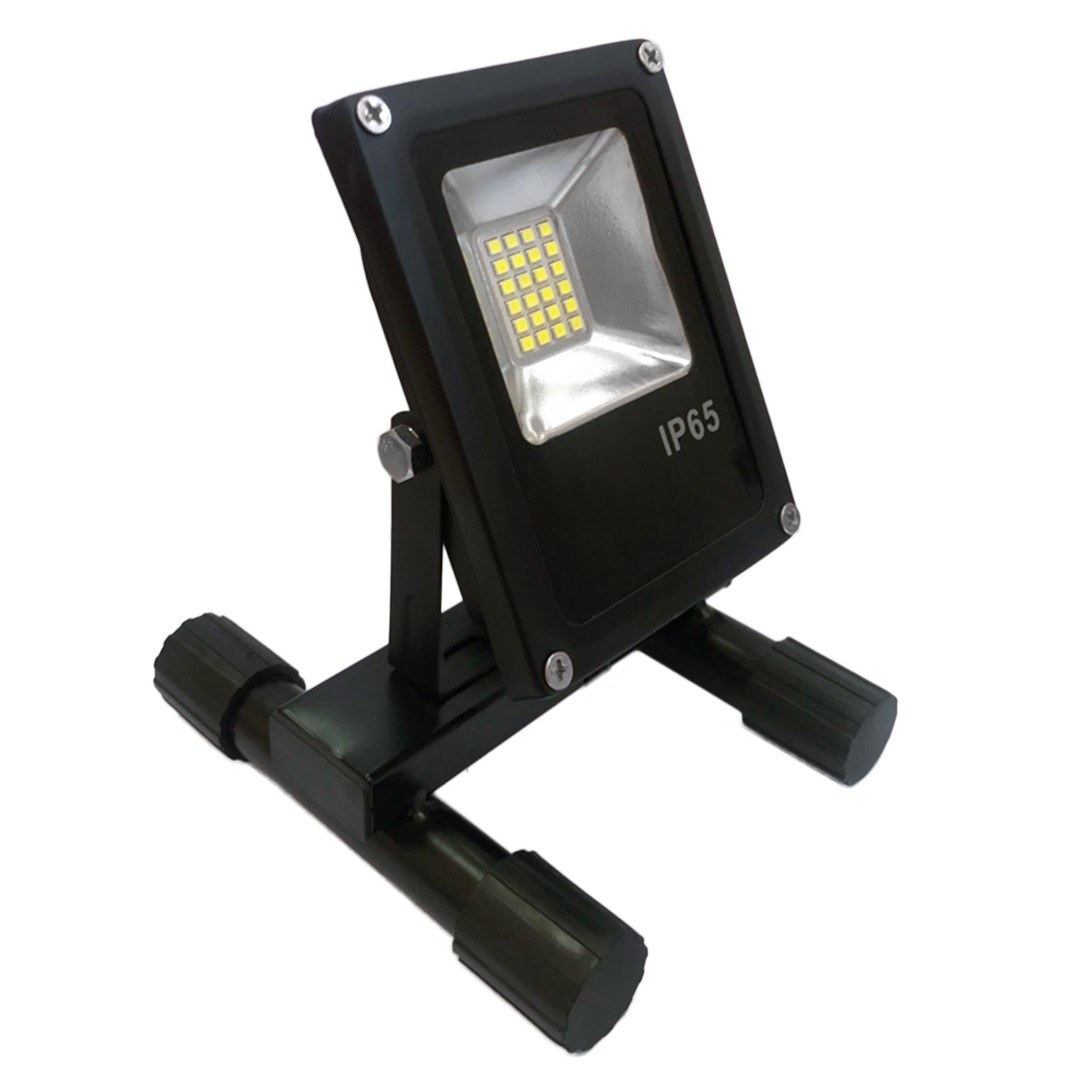 LED floodlight portable GLANZEN FAD-001420 (20 W, 6000 K, SIP) portable led spotlight glanzen fad 0014 20