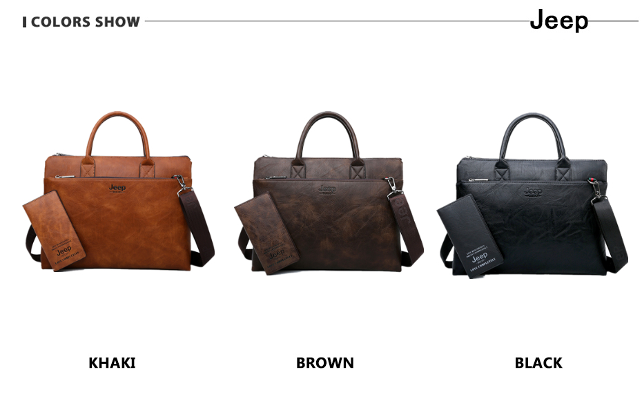HTB1f00zRwHqK1RjSZFPq6AwapXa1 JEEP BULUO Brand High Quality 14 inch Laptop Business Bags Men Briefcases Set For Handbags Leather Office Large Capacity Bags