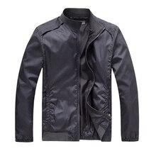 Jacke Männer 2016 Neue Männer Baseball Veste Homme Herren Windbreaker Motorrad Jacken Taschen Roten Mantel Männer Plus Größe 3XL, YA115