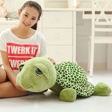 Free shipping big eye tortoise plush toy Turtle soft stuffed toy whole sale and retails best gifts for girls Children'S