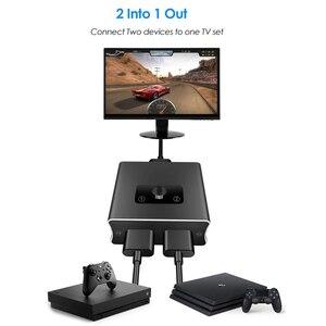 Image 5 - Conmutador bidireccional 2020 1x2 HDMI compatible con HDMI 2,0 HDCP 2,2 UHD 4K 2x1 HDMI Switch HUB Box para Apple TV, XBox,PS3, PS4 HDTV