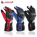 MADBIKE Winter Gloves Men Luva Moto Motorcycle Gloves Racing Waterproof Windproof Winter Warm Leather Cycling Bicycle Cold Guant