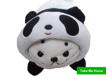 """New SIROTAN Lovely Mother Garden TATA Adorable Plush Stuffed Baby Seal Toy With Panda Cloth Take Off Available 40cm/16"""""""