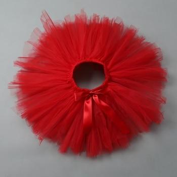 Baby Lovely Fluffy Soft Tulle Tutu Skirts Newborn Birthday Party Pettiskirt Girls Lucky Child Clothes