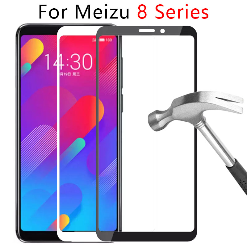 Case On Maisie M8 Note M8c X8 V8 Pro Full Cover For Meizu M X V 8 Not Tempered Glass Screen Protector Safety Tremp Phone Protect