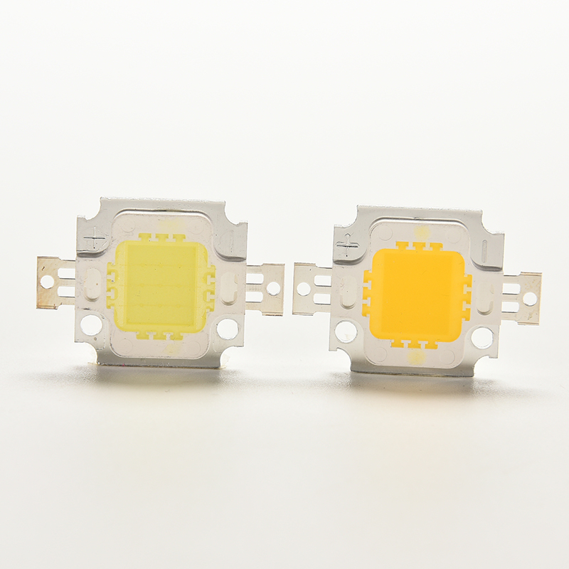 1 Pc 10W COB LED Chip Lamp Bulb Chips For Spotlight Floodlight Garden Square 9-12V Integrated LED Light Beads