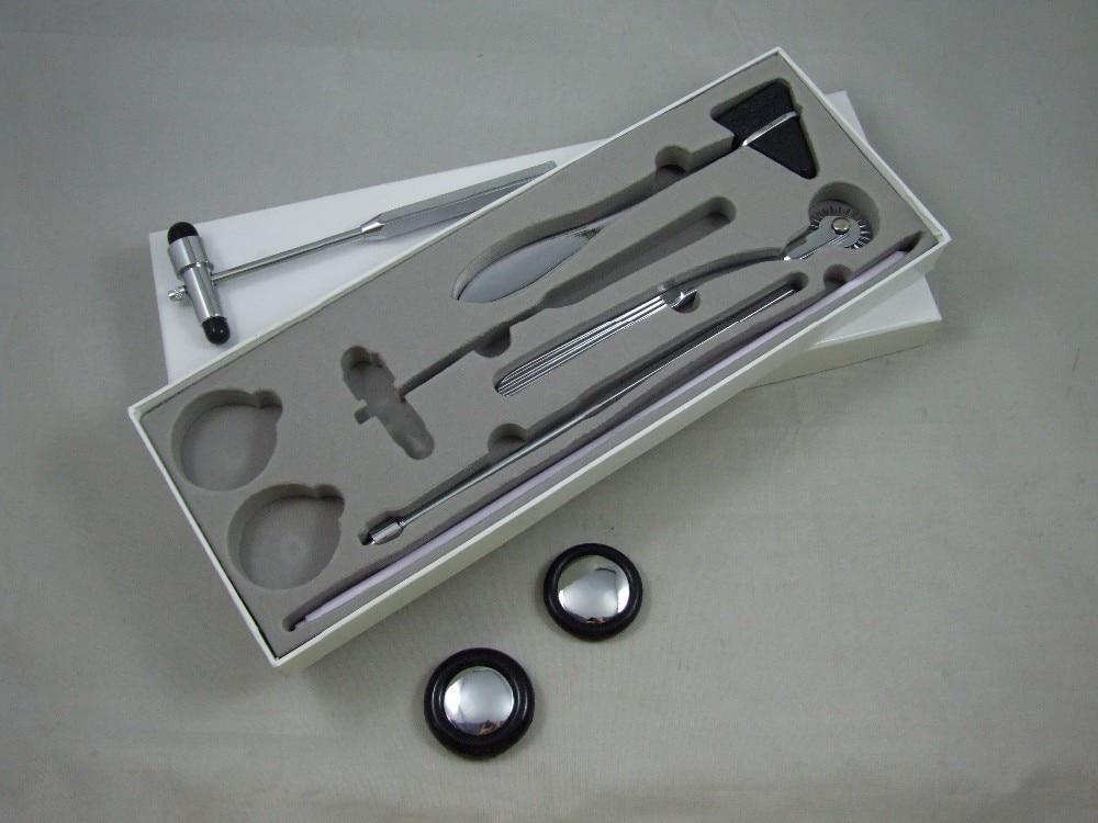 цена на 5pcs set Medical plexor Multifunction medical hammer Nerve system chekc Multi-purpose percussion hammer reflex hammer