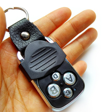 Electric 4-Channel 433MHZ Garage Door Remote Control Transmitter Duplicator Rolling Code Face to Face Cloning Key Fob Universal