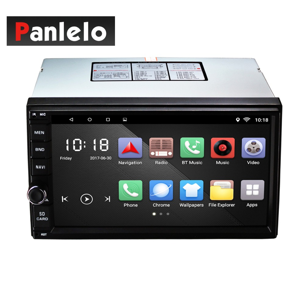 Android 2 DIN Mirror Link 7 inch Bluetooth Car Radio Quad Core 6.0 Head Unit RDS/GPS Navigation with Steering wheel controller android 6 0 quad core 1gb 16gb head unit car radio 7 inch bluetooth wifi mirror link am fm rds gps navigation 2 din car stereo