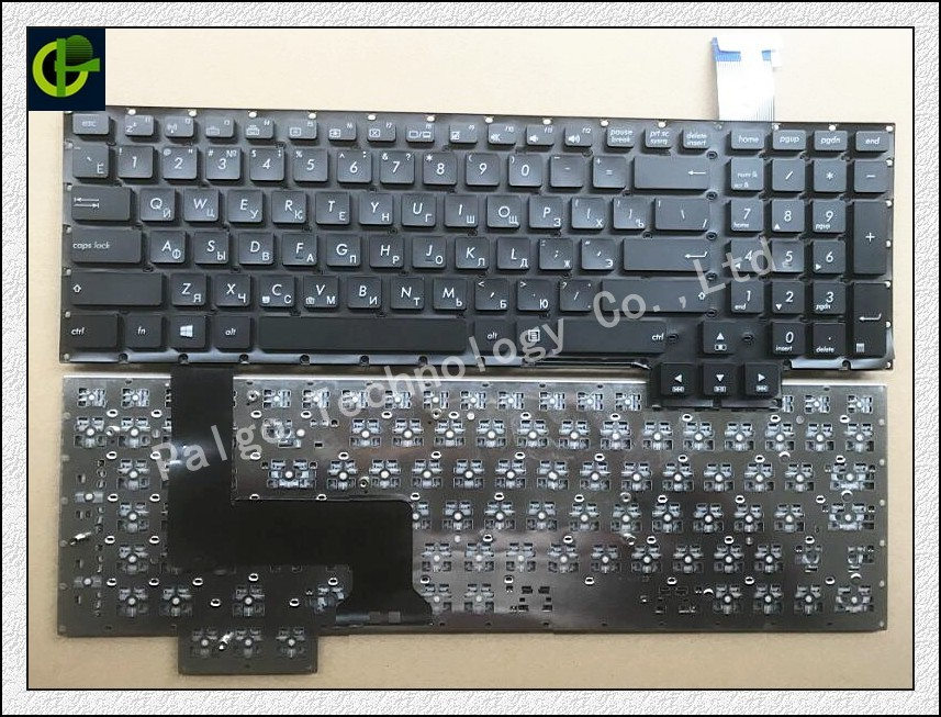 New Russian Keyboard for Asus G750 G750J G750JH G750JM G750JS G750JW G750JX G750JZ G750JY Black RU laptop keyboard недорго, оригинальная цена